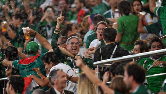 Los hinchas de México sufrieron con la goleada ante Suecia y el Alemania vs. Corea del Sur. (Foto: AFP)