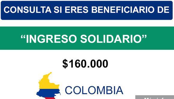 El incentivo económico comenzó a entregarse desde la primera semana de abril (Foto: Gobierno de Colombia)
