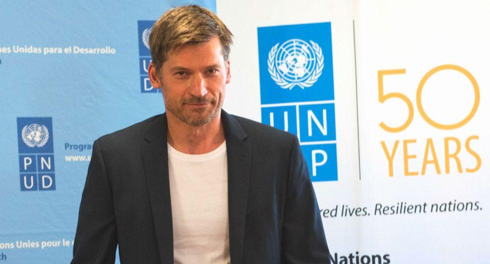 Nikolaj Coster-Waldau fue nombrado Embajador de Buena Voluntad del PNUD en el año 2016. (PNUD)