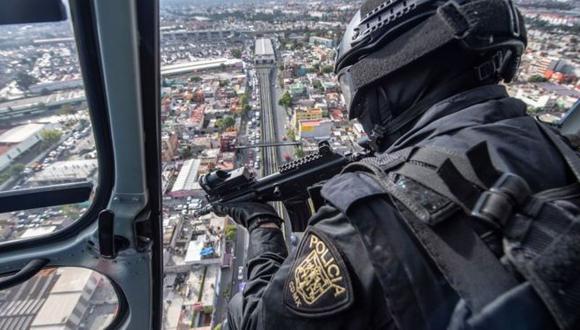 El caso de México es emblemático de la cada vez mayor militarización de la seguridad pública. Foto: AFP