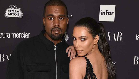 Kim Kardashian y Kanye West demandarían a su exguardaespaldas por US$10 millones por hablar de ellos. (Foto: AFP)