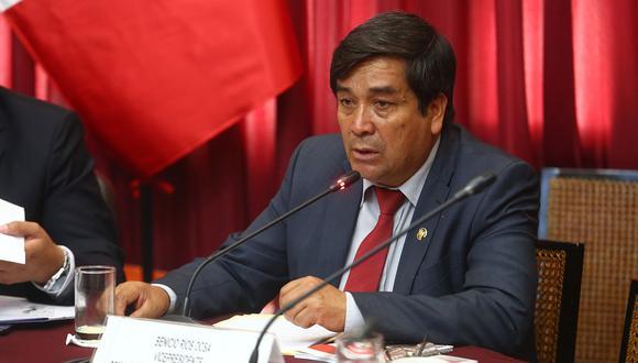 Luis Galarreta comentó la situación del congresista Benicio Ríos. (Congreso de la República)