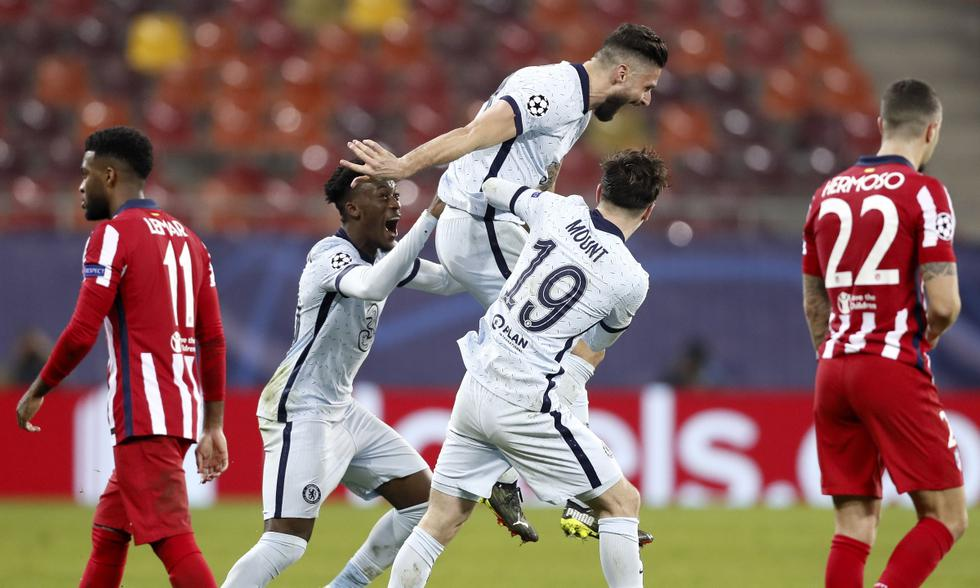 Atlético de Madrid y Chelsea se enfrentaron en octavos de final de la Champions | Foto: EFE