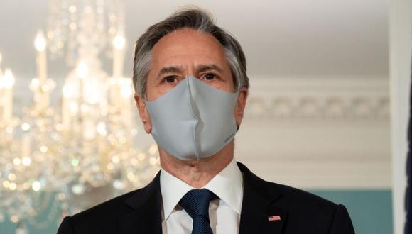 El secretario de Estado de EE. UU., Antony Blinken, en el Departamento de Estado en Washington, EE.UU. (Foto: Saul Loeb / Pool vía REUTERS).