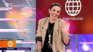 Rebeca Escribens hace curioso comentario sobre la nueva relación de Nicola Porcella