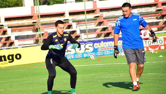 Alejandro Duarte debuta con Sportivo Luqueño. (Foto: @SpLuquenOficial)