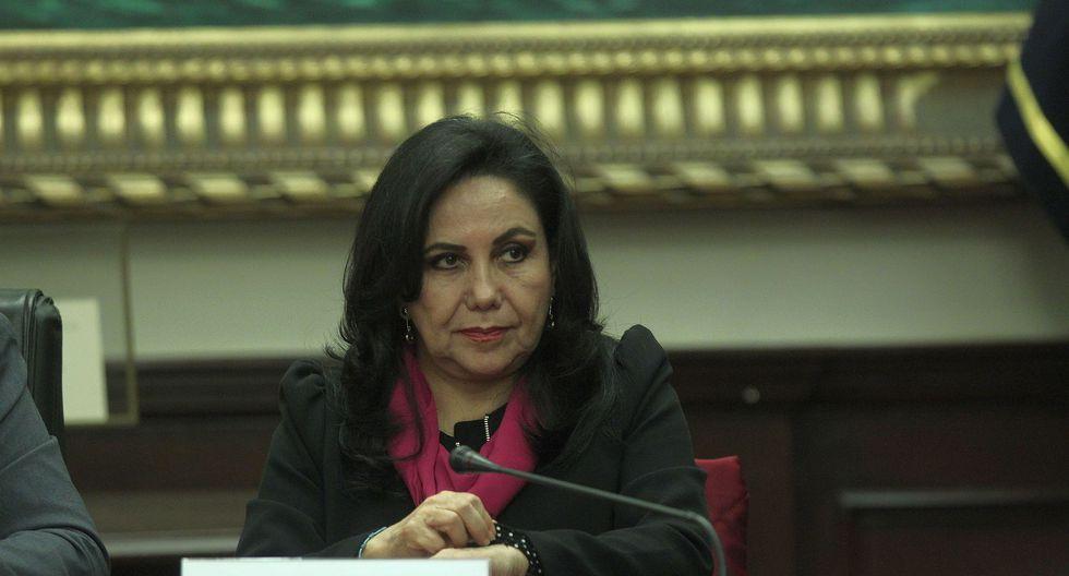 """""""La inmunidad parlamentaria no significa impunidad"""", señaló Gloria Montenegro. (Foto: Archivo El Comercio)"""