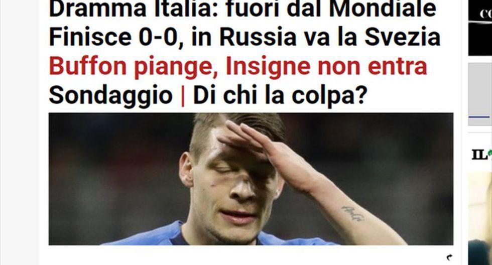 Il Mattutino - Italia. (Foto: captura de pantalla)