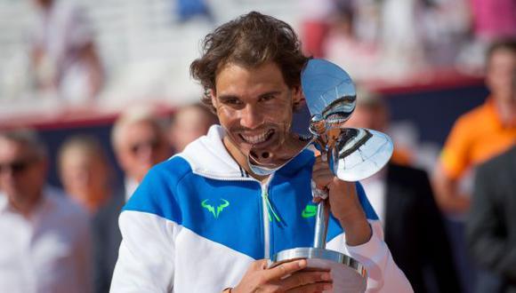 Nadal venció a Fognini y ganó el torneo ATP 500 de Hamburgo
