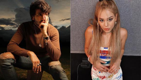 """Danna Paola y Sebastián Yatra a puertas de presentar """"No bailes sola"""". (Foto: Instagram @sebastianyatra/@dannapaola)"""