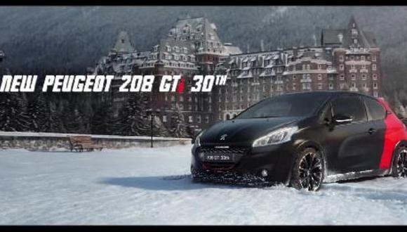 El espectacular spot del Peugeot 208 GTi