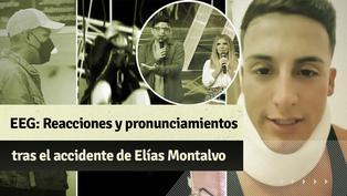 """""""Esto es guerra"""": las reacciones tras el accidente de Elías Montalvo"""