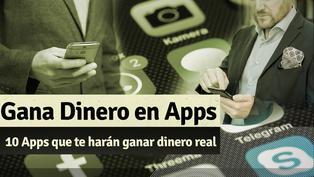 Gana dinero real usando estas apps