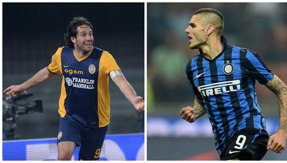 Icardi y Luca Toni acabaron como máximos goleadores en Italia