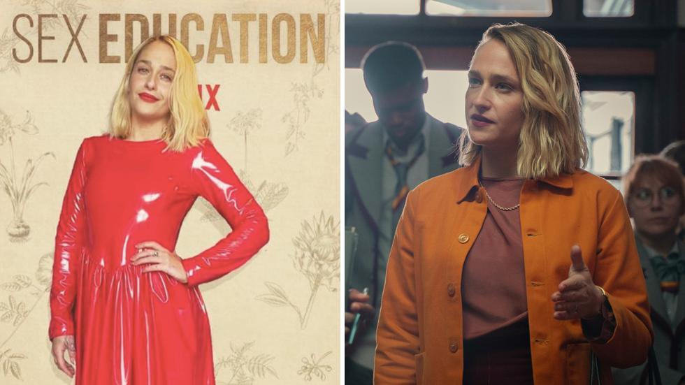 """Jemima Kirke interpreta a Hope Haddon, la nueva directora de Moordale.  Esta actriz británica es conocida por su papel de Jessa Johansson en la exitosa serie de HBO """"Girls"""". (Foto: Netflix)"""