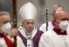Papa Francisco imagina que morirá en Roma siendo pontífice y no volverá a Argentina