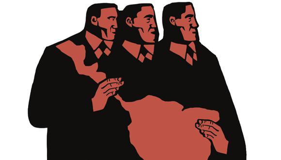 """""""Nuestro destino somos nosotros mismos"""". (Ilustración: Víctor Aguilar)"""