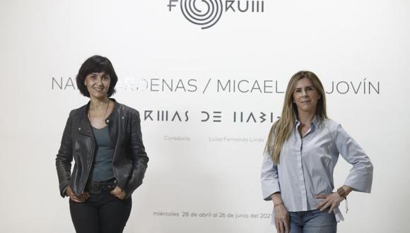 """Nani Cárdenas y Micaela Aljovín presentan su muestra bipersonal  """"Formas de Habitar"""". (Foto: César Campos / El Comercio)"""