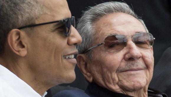 Barack Obama y Raúl Castro. (Foto: EPA, vía BBC Mundo).