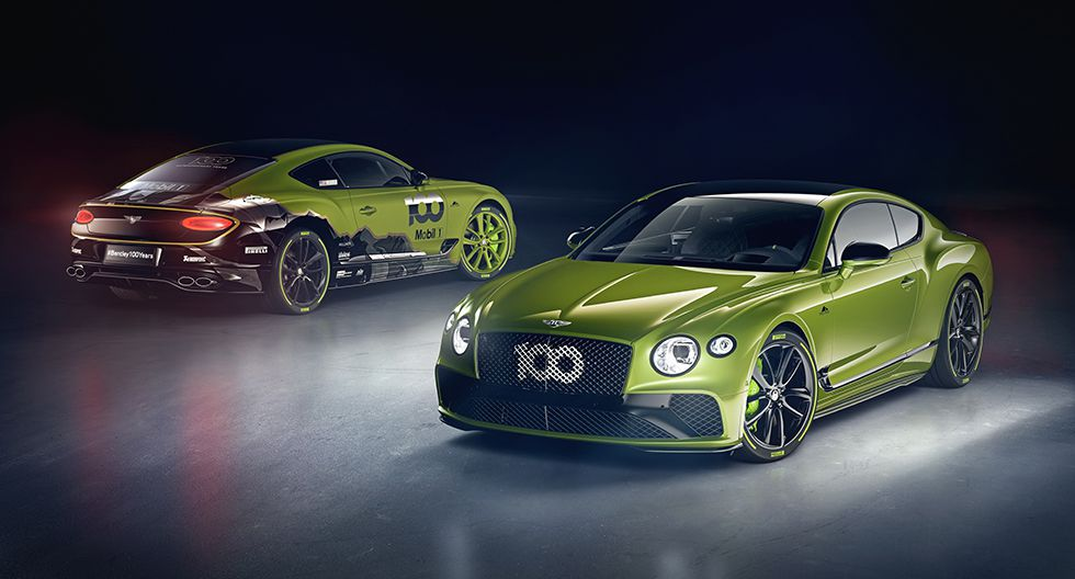 Con esta edición limitada Bentley celebra su triunfo en Pikes Peak. (Foto: Bentley)