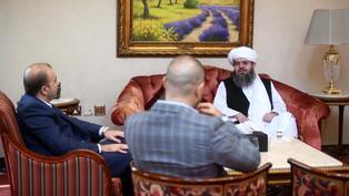 Los talibanes se reúnen con representantes de la UE y EEUU en Doha