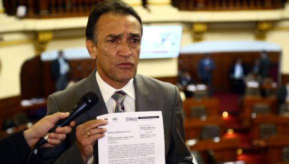 """""""El ministro tiene que entender que cuando el Congreso lo cita él tiene que venir"""", manifestó Héctor Becerril.  (Foto: El Comercio)"""