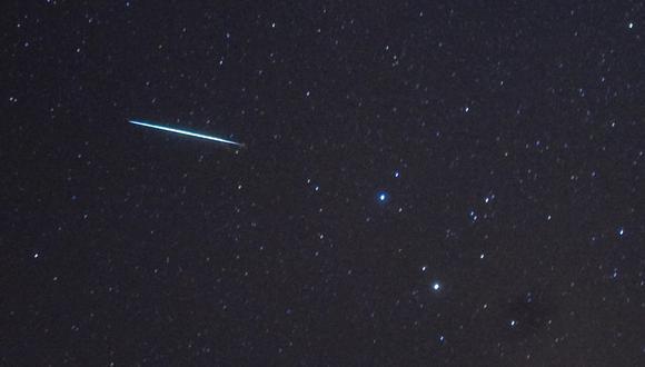 Imagen de un meteoro registrado en Nueva York en 2009. (Foto: STAN HONDA / AFP)