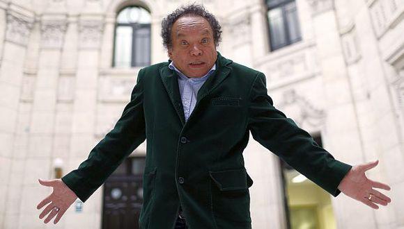 """Pablo Villanueva más conocido como """"Melcochita"""" recibirá este martes un homenaje en el Congreso (Archivo El Comercio)"""