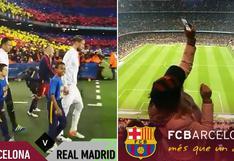 Así se vivió el Barcelona vs. Real Madrid en Snapchat