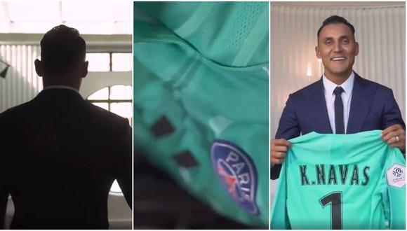 ¡Keylor Navas al PSG! Club parisino confirmó la llegada del portero costarricense con este video. (Foto: Captura de pantalla)
