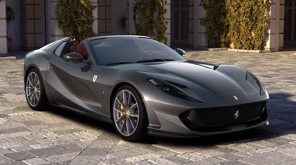 El nuevo Ferrari 812 GTS equipa un motor V12 de 6.5 litros que desarrolla 800 caballos de potencia. (Fotos: Ferrari).