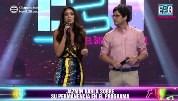 """Jazmín Pinedo indicó que sigue siendo la conducta de la nueva temporada de """"Esto es guerra"""". (Captura de pantalla)"""