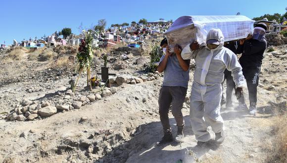 Perú lidera la tasa de mortalidad por COVID-19. (Foto: Diego Ramos / AFP)