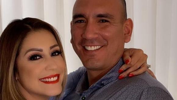 Ambos se comprometieron a mediados de setiembre de este año y tres meses después se casaron. (Foto: Karla Tarazona / Instagram)