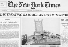 """The New York Times a EE.UU.: """"Terminen con epidemia de armas"""""""