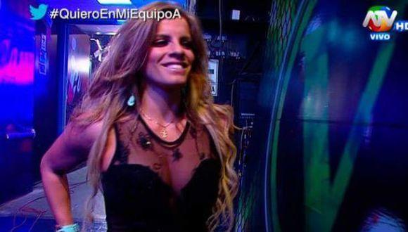 """Combate"": Alejandra Baigorria regresó al programa [VIDEO]"