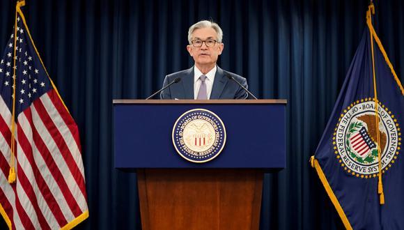 """Jerome Powell se mostró """"optimista"""" acerca de la eventual recuperación económica en Estados Unidos. (Foto: Reuters)"""