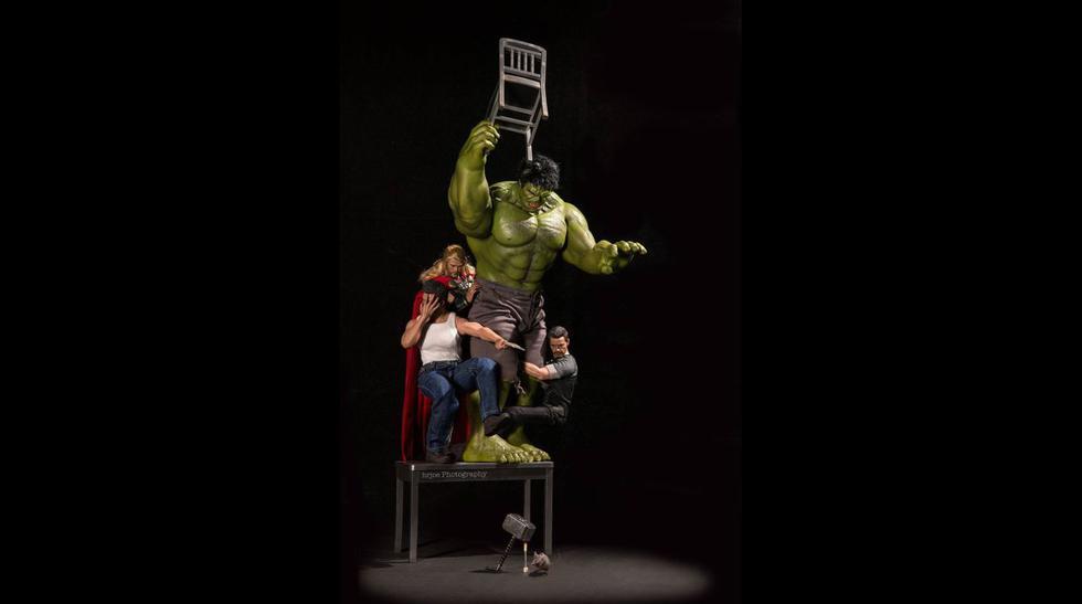 Instagram: fotógrafo muestra la vida oculta de los superhéroes - 6