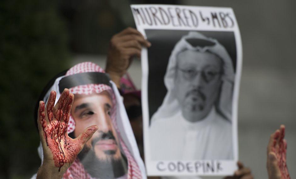 Los servicios secretos de Estados Unidos y de Turquía creen que el príncipe heredero Mohammed bin Salman ordenó el asesinato de Jamal Khashoggi. (Photo by Jim WATSON / AFP).