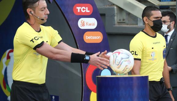 El brasileño Raphael Claus ha sido designado para arbitrar el duelo por el tercer puesto de Copa América 2021