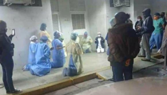 Los trabajadores de la salud son precisamente uno de los grupos más vulnerables a la enfermedad. (Foto: Instagram/ Captura).