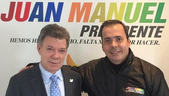 Colombia: Renuncia asesor de campaña de Santos por escándalo
