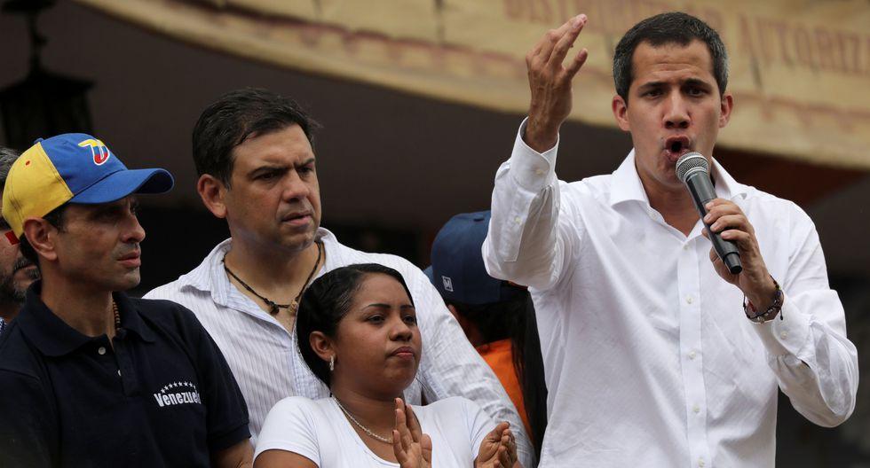"""Venezuela: Juan Guaidó dice que Nicolás Maduro reabrió frontera con Colombia por """"presión"""" ciudadana. (Reuters)."""