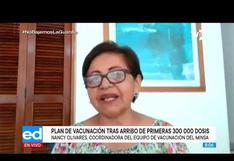 Nancy Olivares, la médico pediatra que hoy lidera la vacunación contra la COVID-19 en Perú