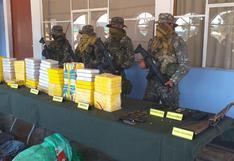 Vraem: incautan armamento y droga tras enfrentamiento con terroristas