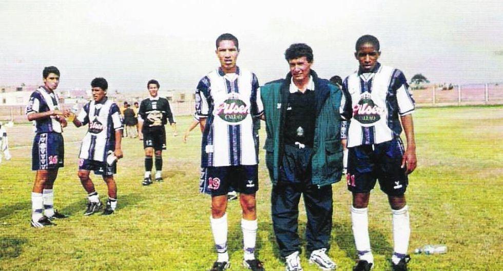 Paolo y Jefferson con el técnico Julio García. (Foto: Archivo El Comercio)