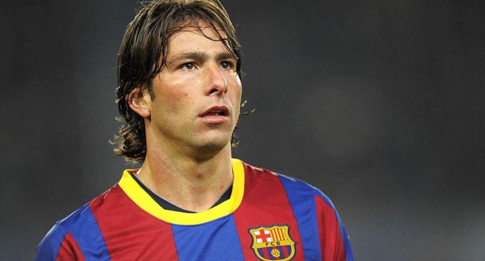 Maxwell fue dirigido por Guardiola en el Barcelona. (Foto: AFP)