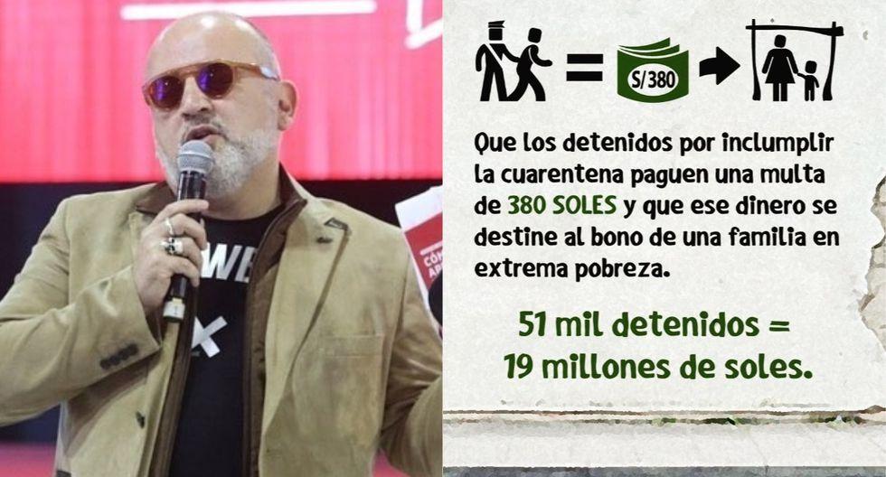 El periodista Beto Ortiz utilizó sus redes sociales para lanzar propuesta en tiempos de pandemia. (Foto: @betoortiz28)