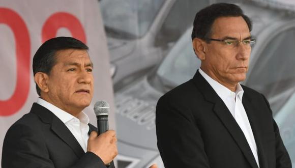 La salida de Carlos Morán es la cuadragésimo segunda de un ministro durante el gobierno de Martín Vizcarra (Foto: Ministerio del Interior)