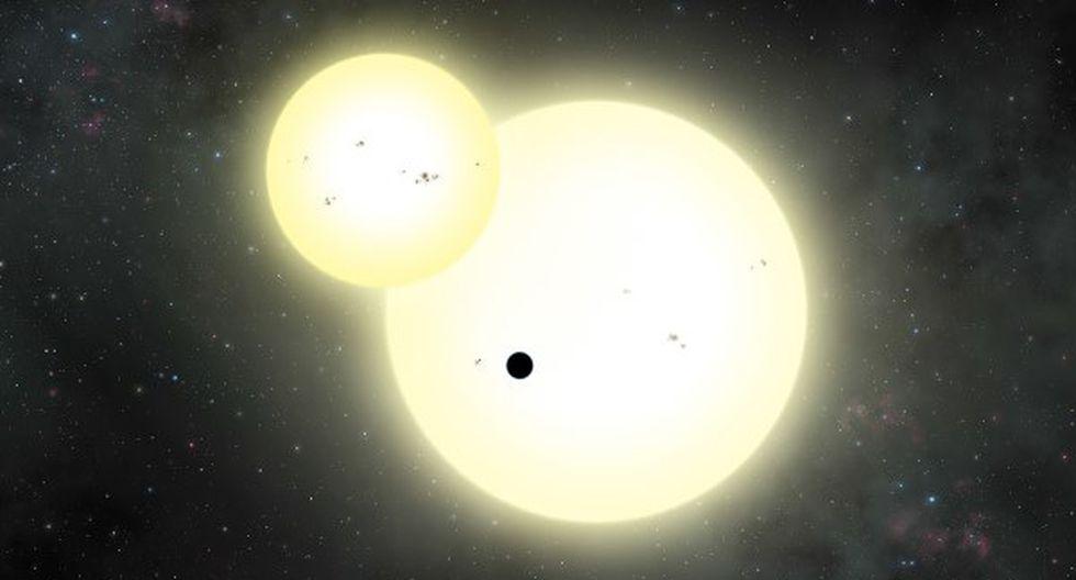 Detectan un gigantesco planeta fuera del sistema solar